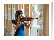 nicola benedetti launches new scheme - playfair library, edinburgh